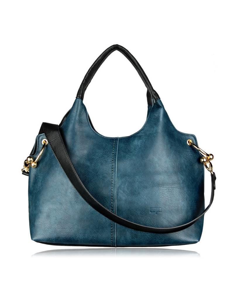 Yulia Handbag Blue