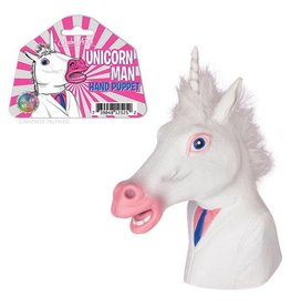 Accoutrements Unicorn Man Puppet