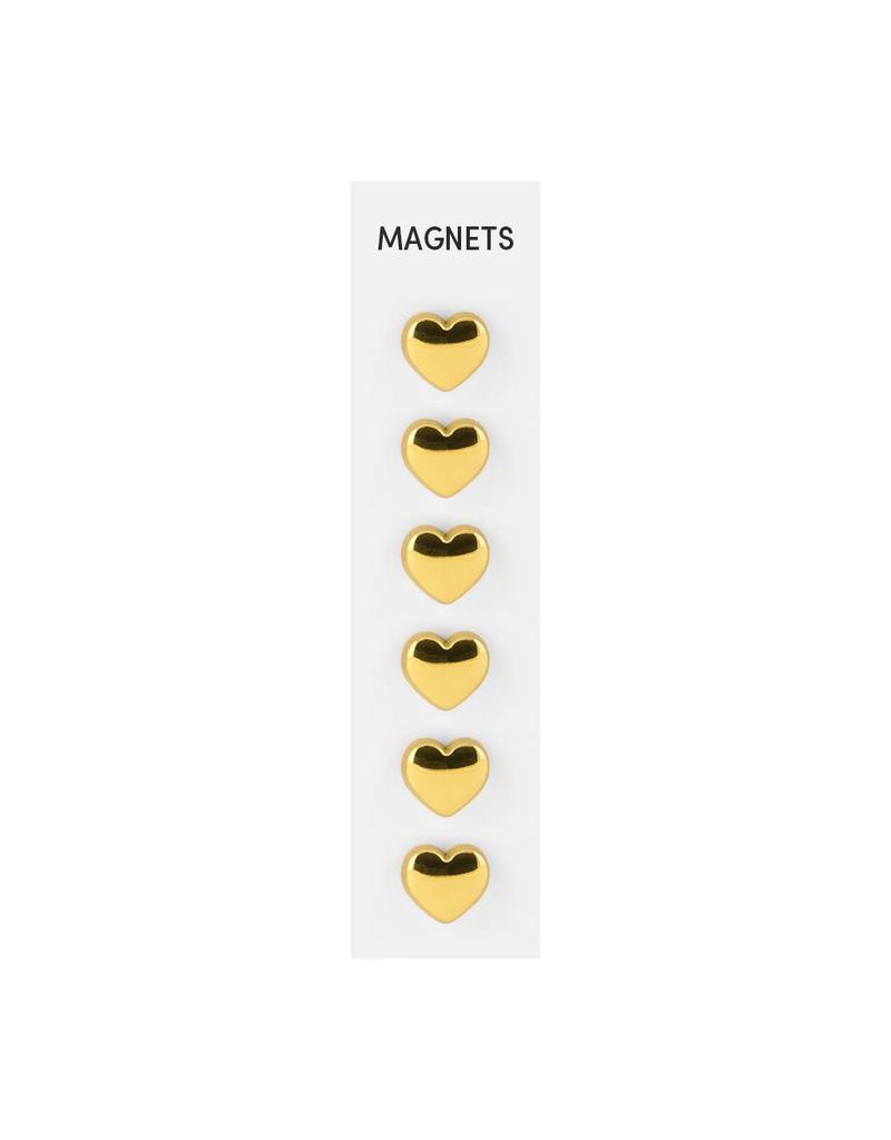THREE BY THREE Heart Magnet