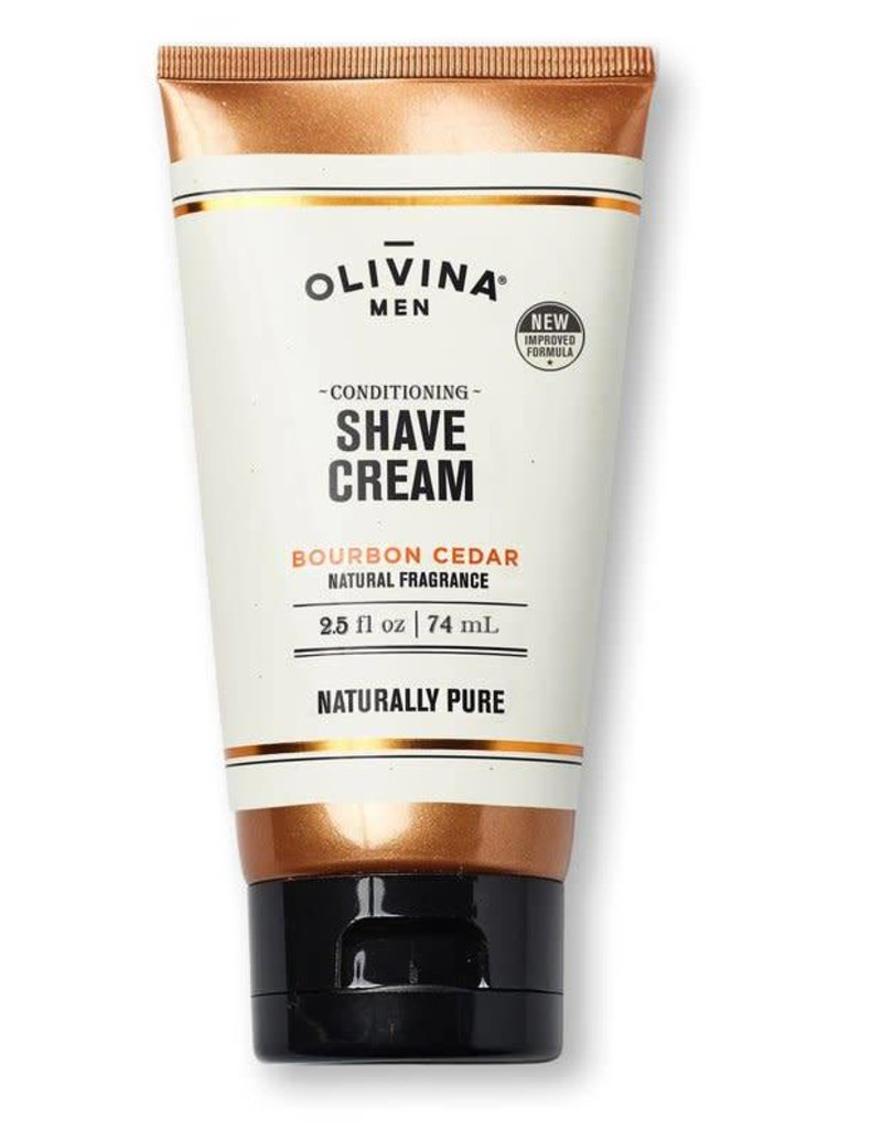 Olivina Men Shave Cream 2.5 oz.