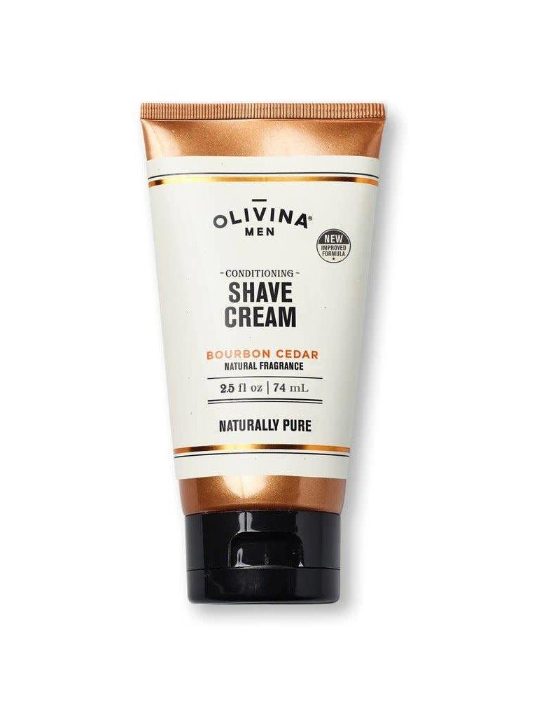 Olivina Men Shave Cream 2.5 oz.