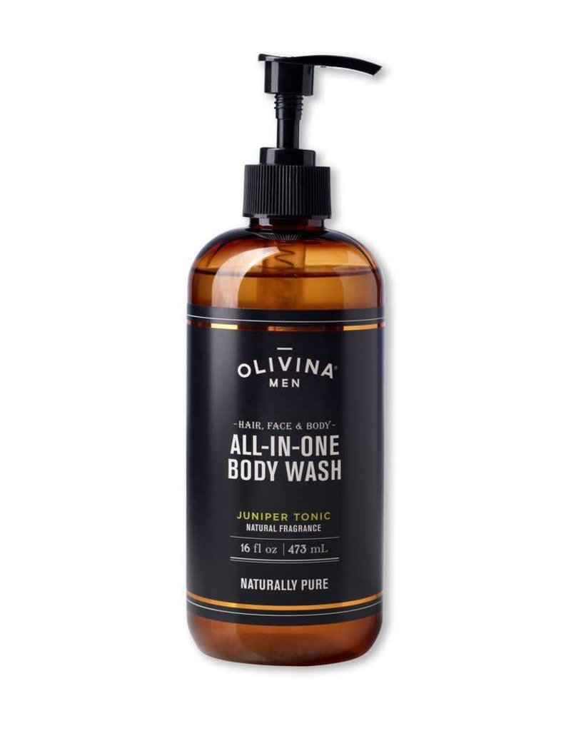 Olivina Men All In One Scrub - Juniper Tonic