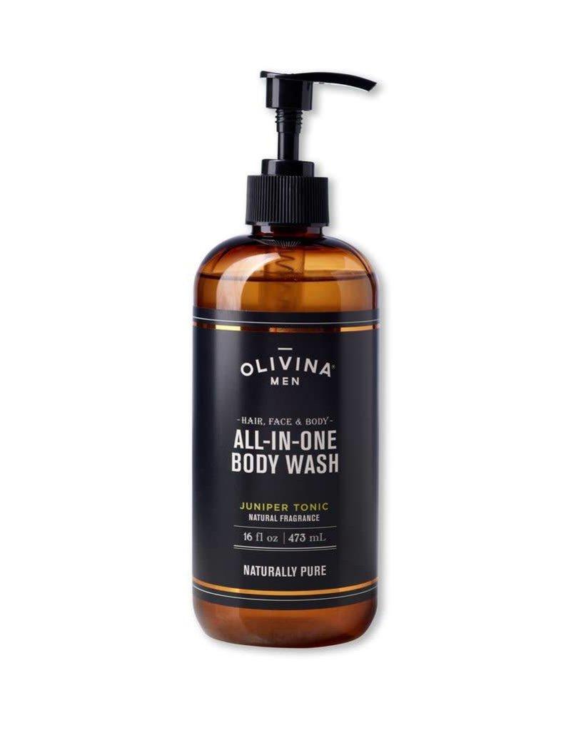 Olivina Men All In One Scrub - Juniper Tonic