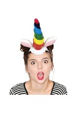Inflatable Unicorn Horn Headband