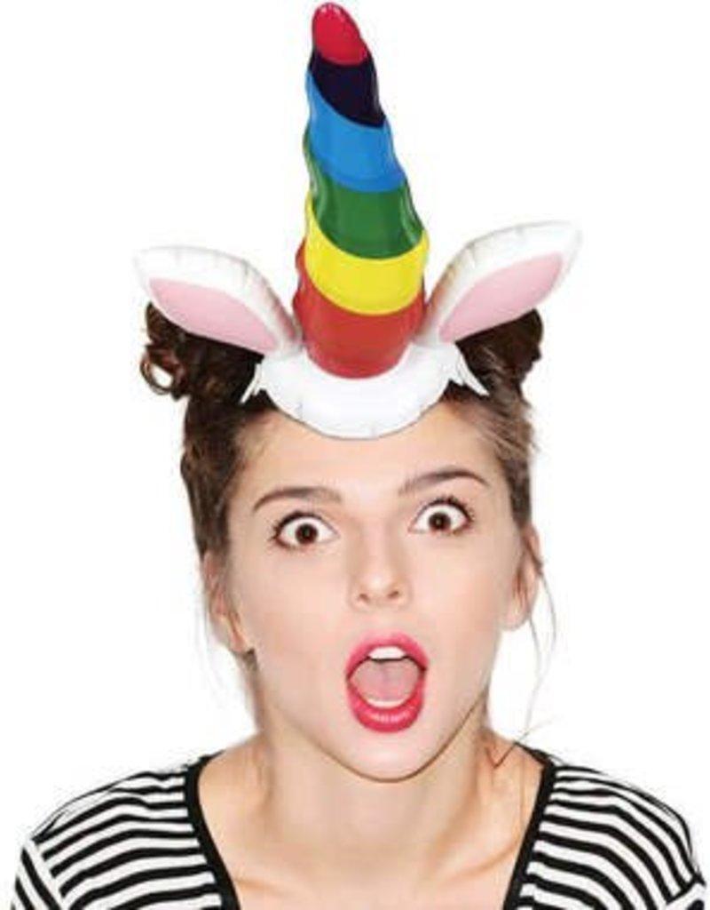 Inflatable Unicorn Horn Headband