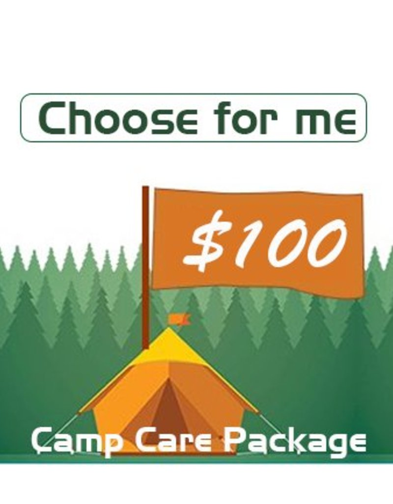 Choose For Me Camp Package $100