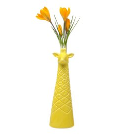 Giraffe Vase Yellow