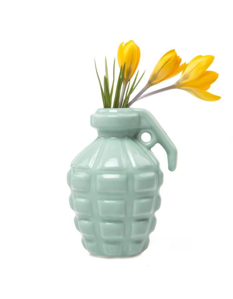 Grenade Vase in Mint
