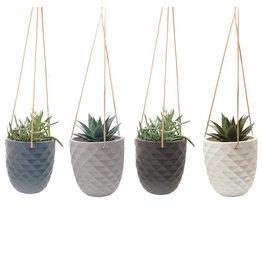 Modern Ceramic  Hanging Planter