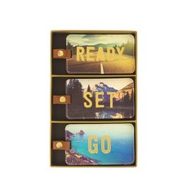 Adventurous Luggage Tag Set