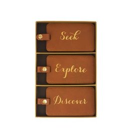 Chic Luggage Tag Set