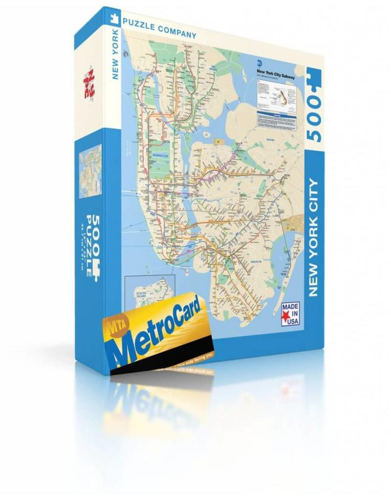 New York City Subway Map Puzzle