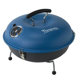 Mini Grill and Smoker in Blue
