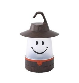 Smile Lantern in Brown
