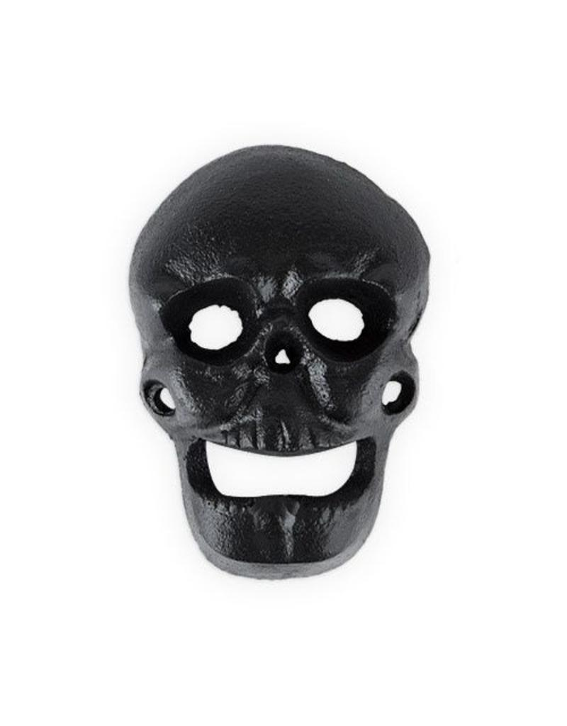 True Fabrications Wall Mounted Skull Bottle Opener