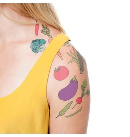 Tattly Vegetable Tattoo Set