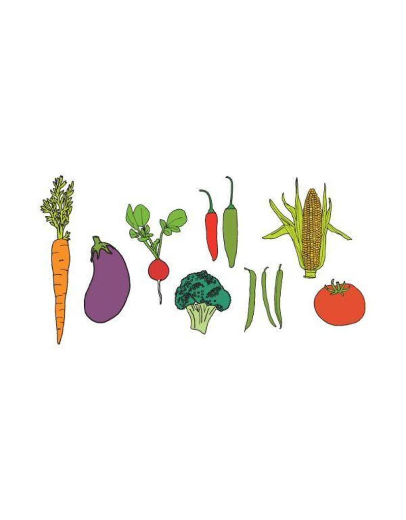 Tattly Vegetable Tattoo Set