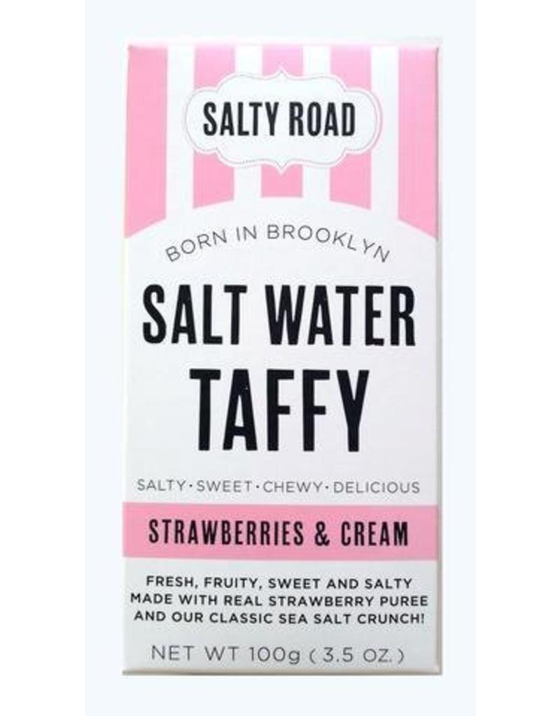 Salty Road Strawberries & Cream  Taffy
