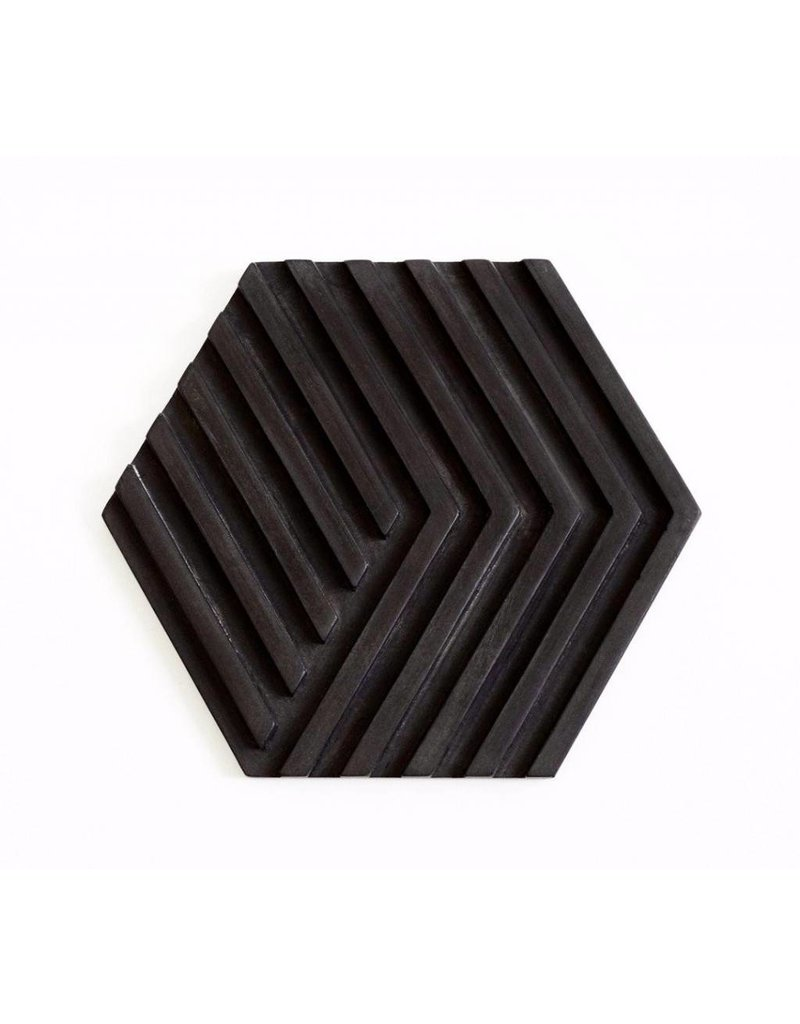 Areaware Table Tile Trivet Black