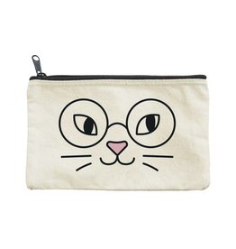 Seltzer Cat Glasses Pouch