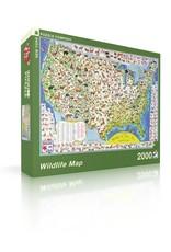 Wildlife Map Puzzle