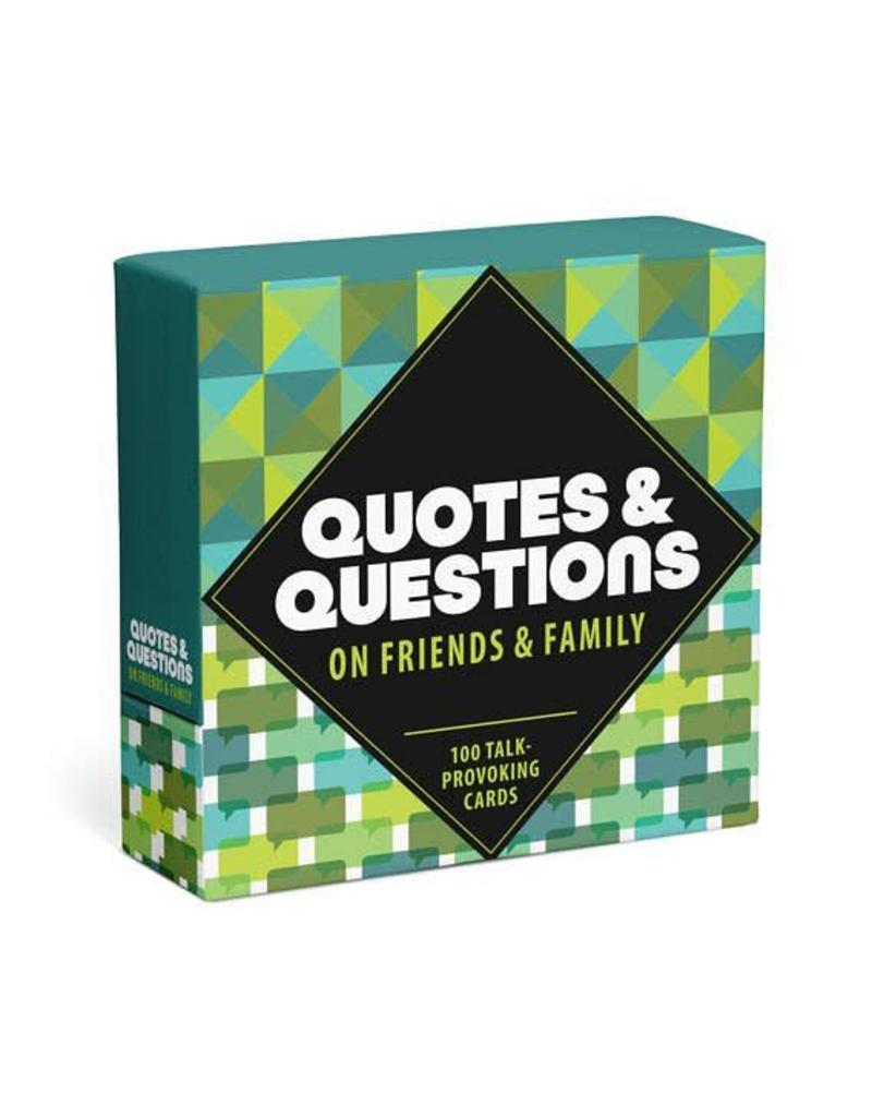Family & Friends  Prompt Cards