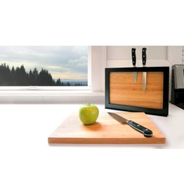 Chops Cutting Board and Knife Holder