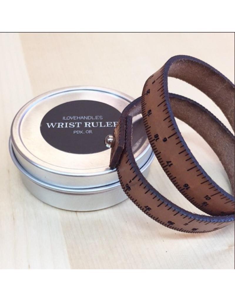 Ruler Bracelet Brown
