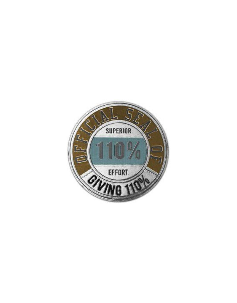 Giving 110% / Giving No F*cks Sticker Seals