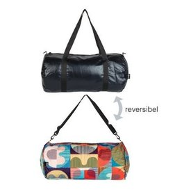 Reversible Weekender Bag Black/Print