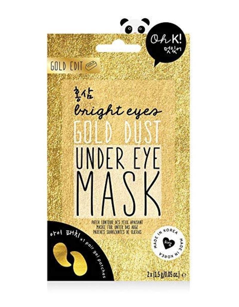 Gold Dust Under Eye Mask