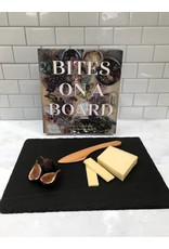 Slate with Bites on a Board