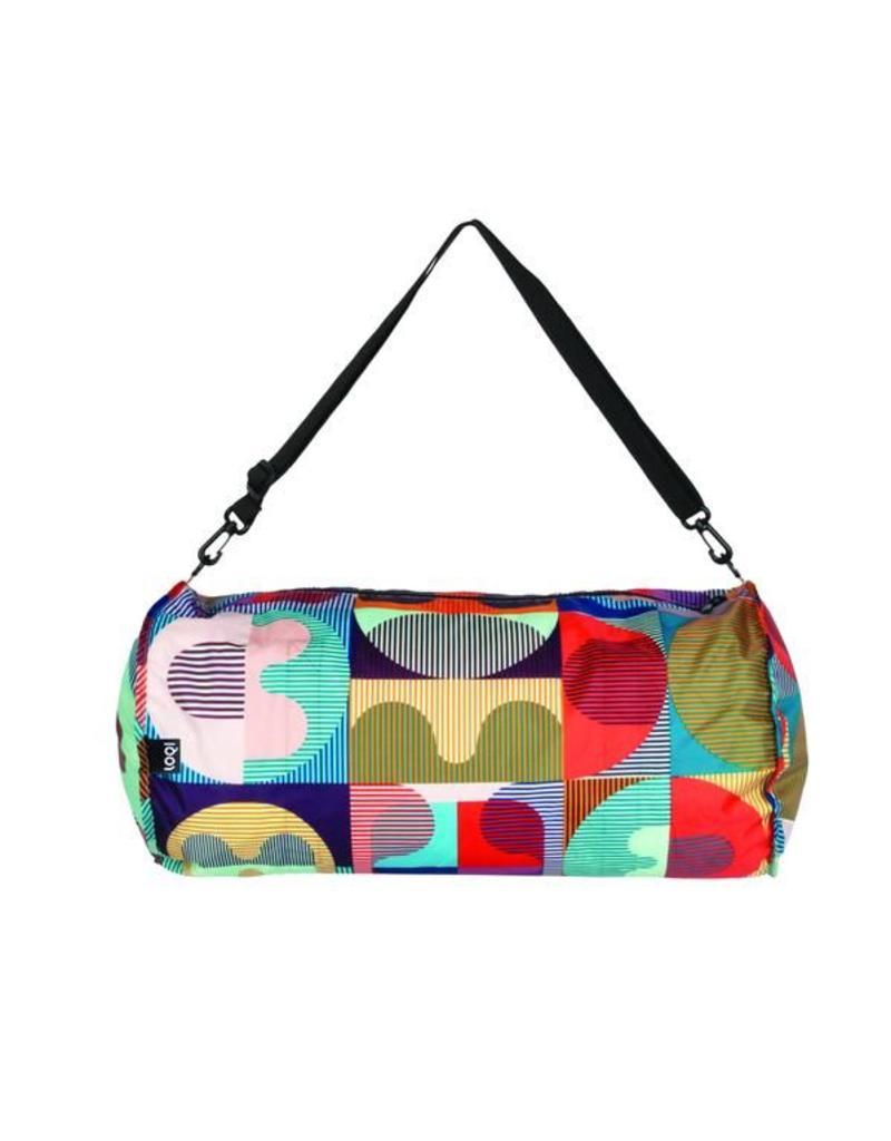 Reversible Weekender Bag Black/Print