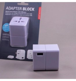 Travel Adapter Block