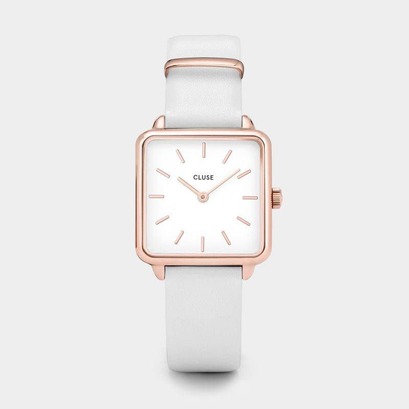 CLUSE White/White Rose Gold