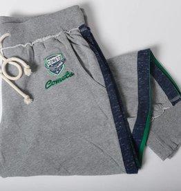 Colosseum Women's Grey Cotton Sweatpants