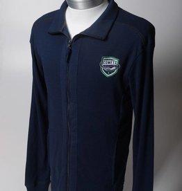 Chiliwear Men's Chiliwear Full Zip Sweatshirt - Blue
