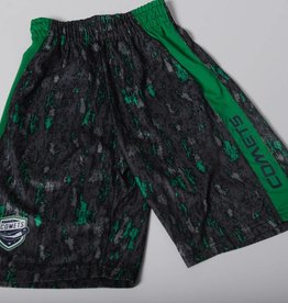Colosseum Youth Shorts - Green Camo