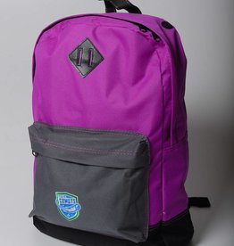 District District Retro Backpack - Purple