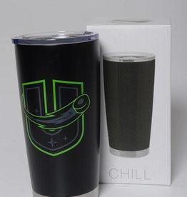 ETS Tumbler - Black with Neon Logo