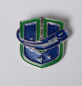 Sparta Pewter U Logo Pin