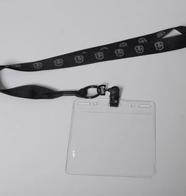 Cooley Brand Utica Comet Lanyard - Black on Black