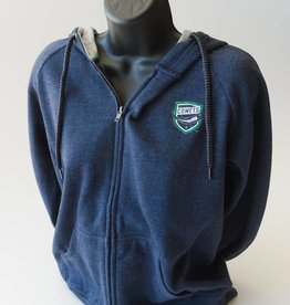 Colosseum Women's F/Z Hoody - Grey