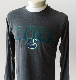 Colosseum Men's L/S - Grey with Green Utica