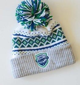 CCM CCM White Pom Winter Hat