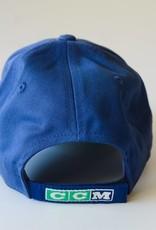 Reebok Stripe Utica Comets Logo Hat - Blue
