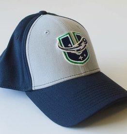 New Era New Era Hat - Grey/Navy with U Logo