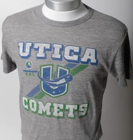 47 Brand Men's Utica Comets Heather Grey Tee - 47 Brand