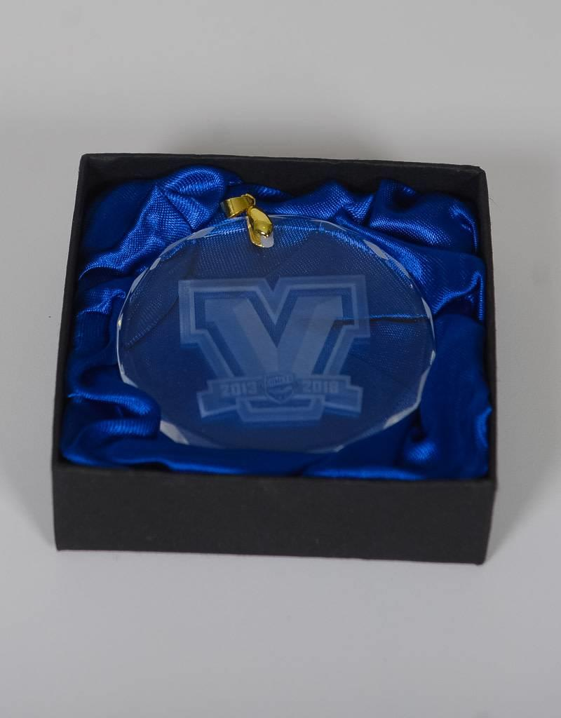 Crystal Ornament - 5th Year Logo