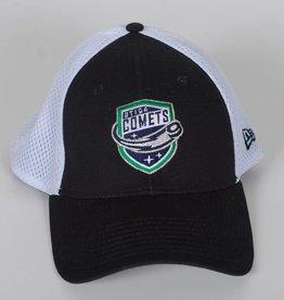 New Era New Era 39Thirty Hat - Black with White Mesh
